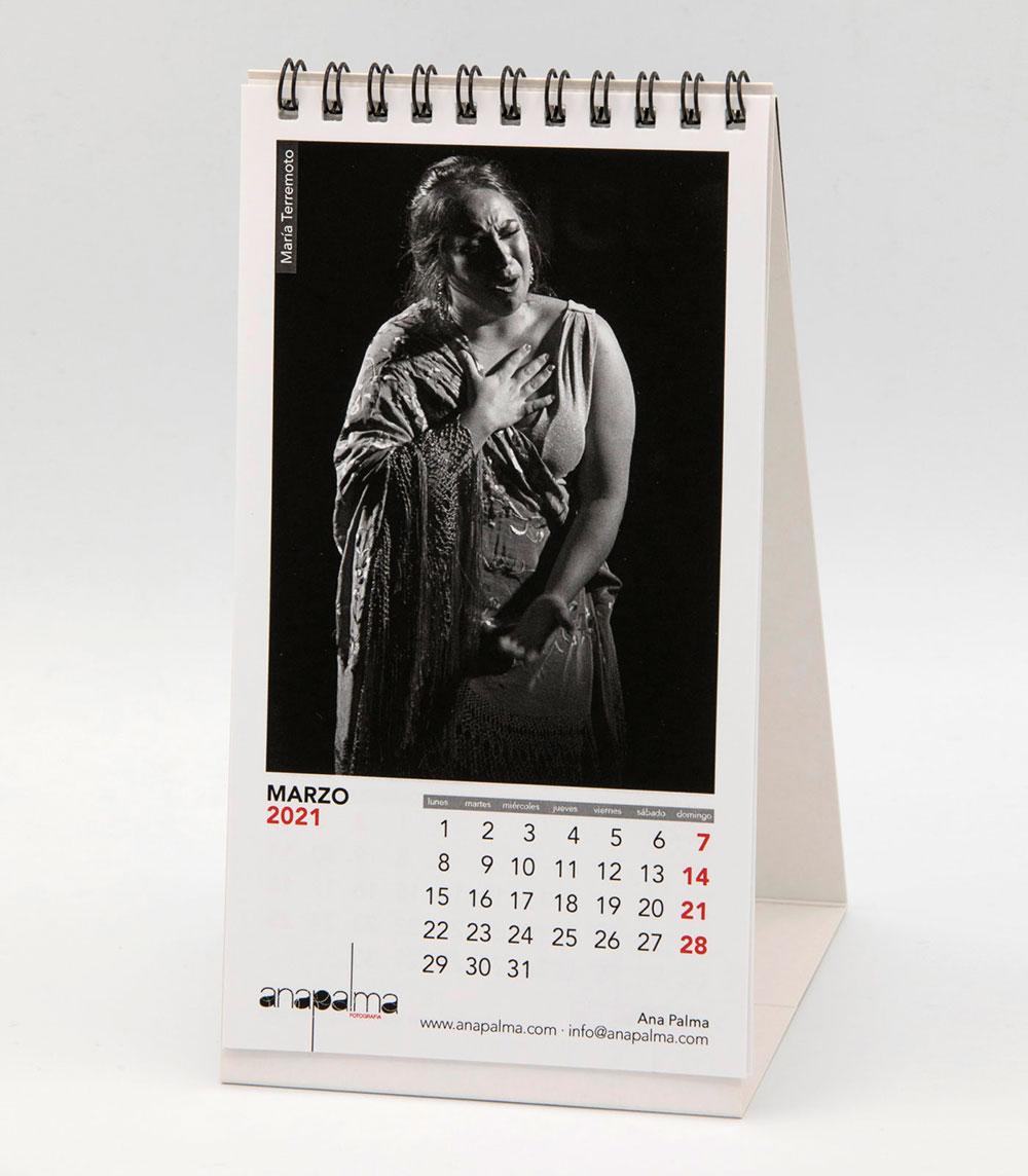Calendario Ana Palma 2021 - María Terremoto