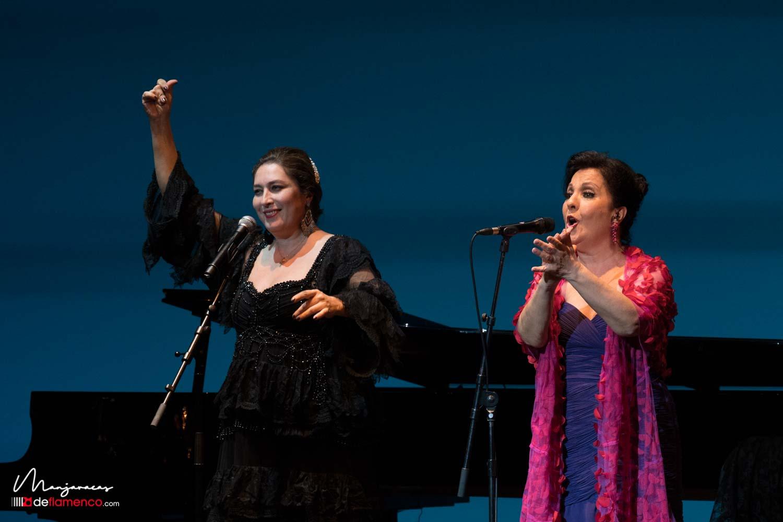 Carmen Linares & Estrella Morente - 40 años - Suma Flamenca