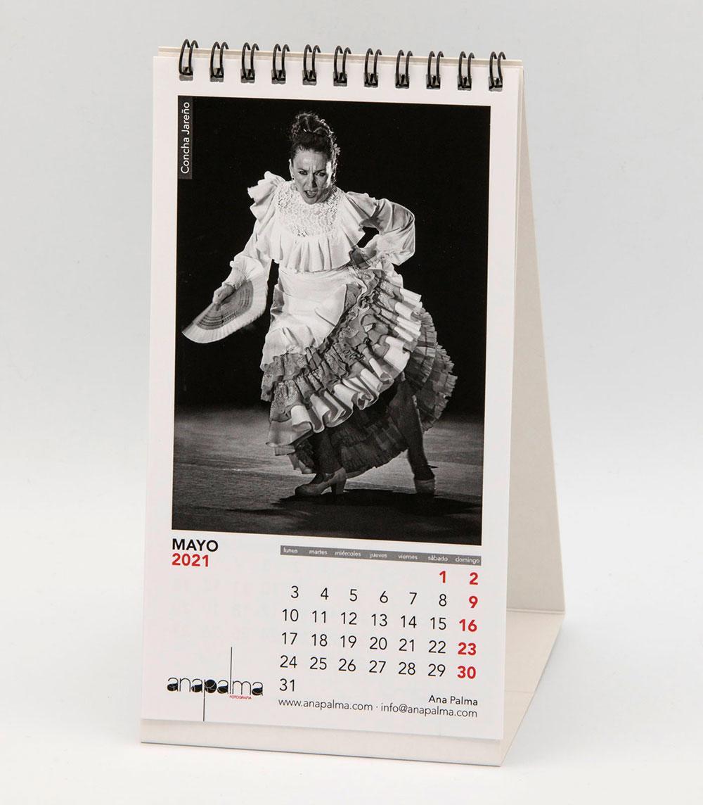 Calendario Ana Palma 2021 - Concha Jareño