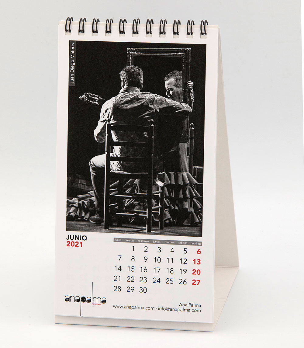 Calendario Ana Palma 2021 - Juan Diego Mateos