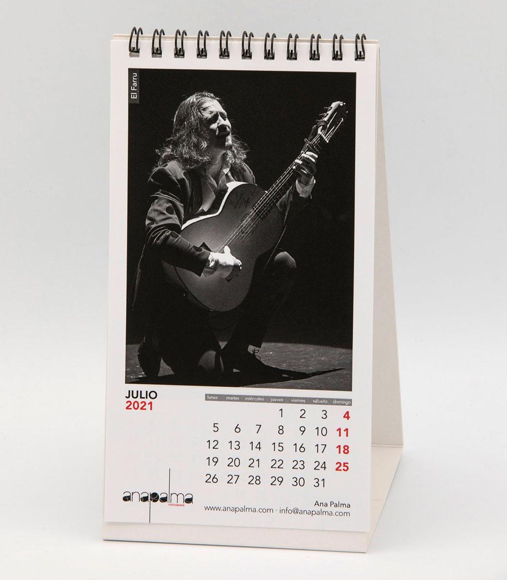 Calendario Ana Palma 2021 - El Farru