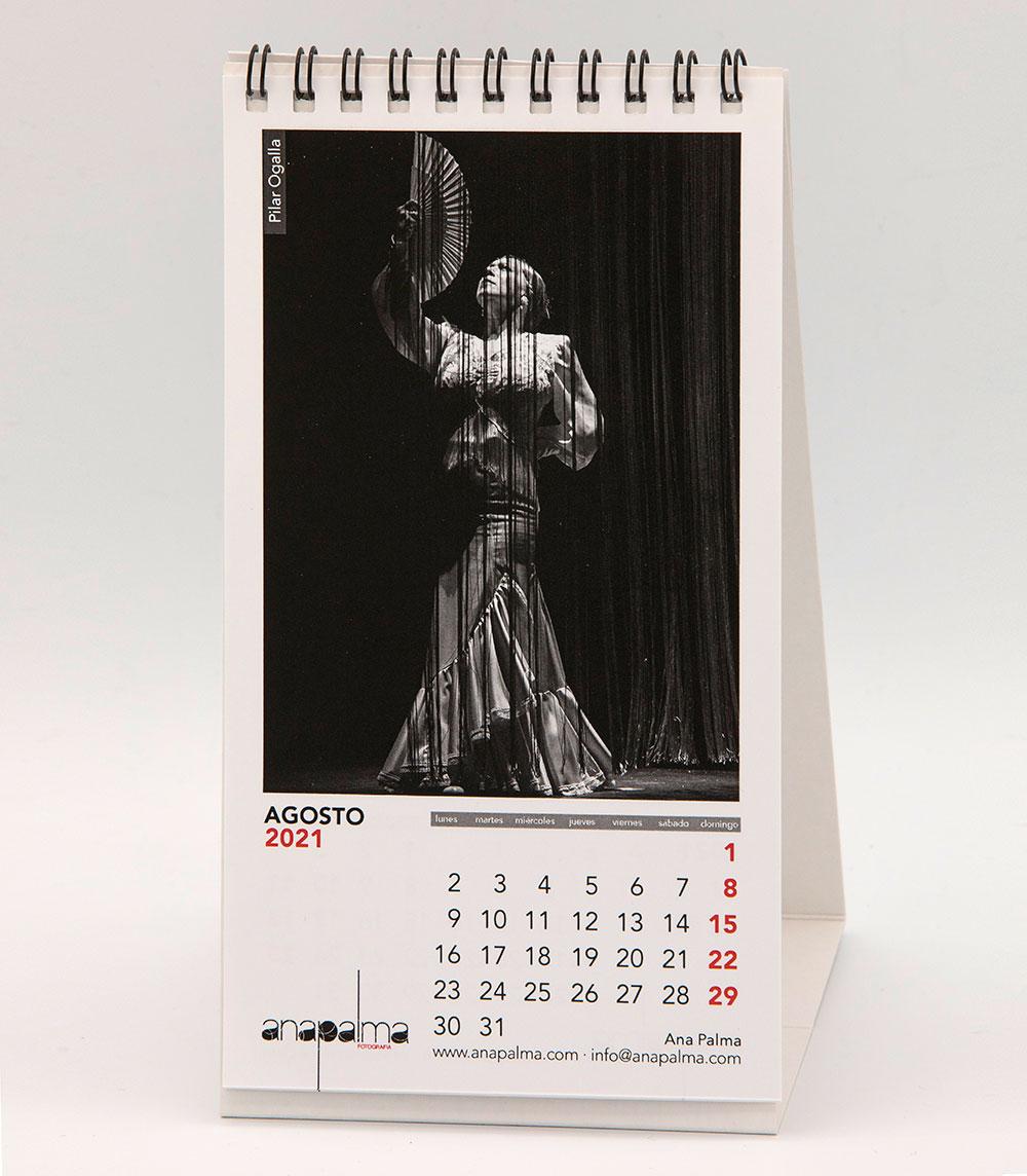 Calendario Ana Palma 2021 - Pilar Ogalla