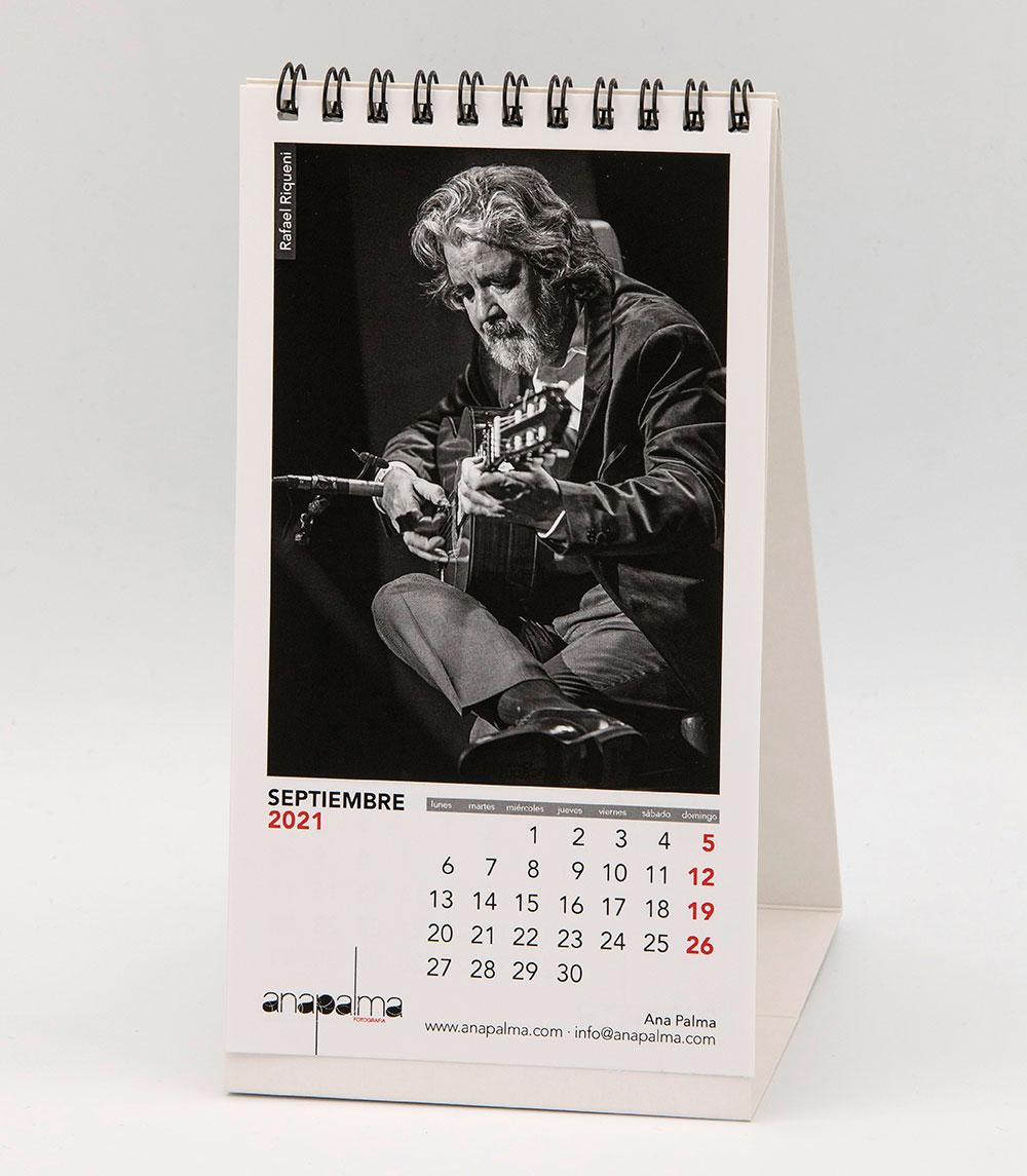 Calendario Ana Palma 2021 - Rafael Riqueni