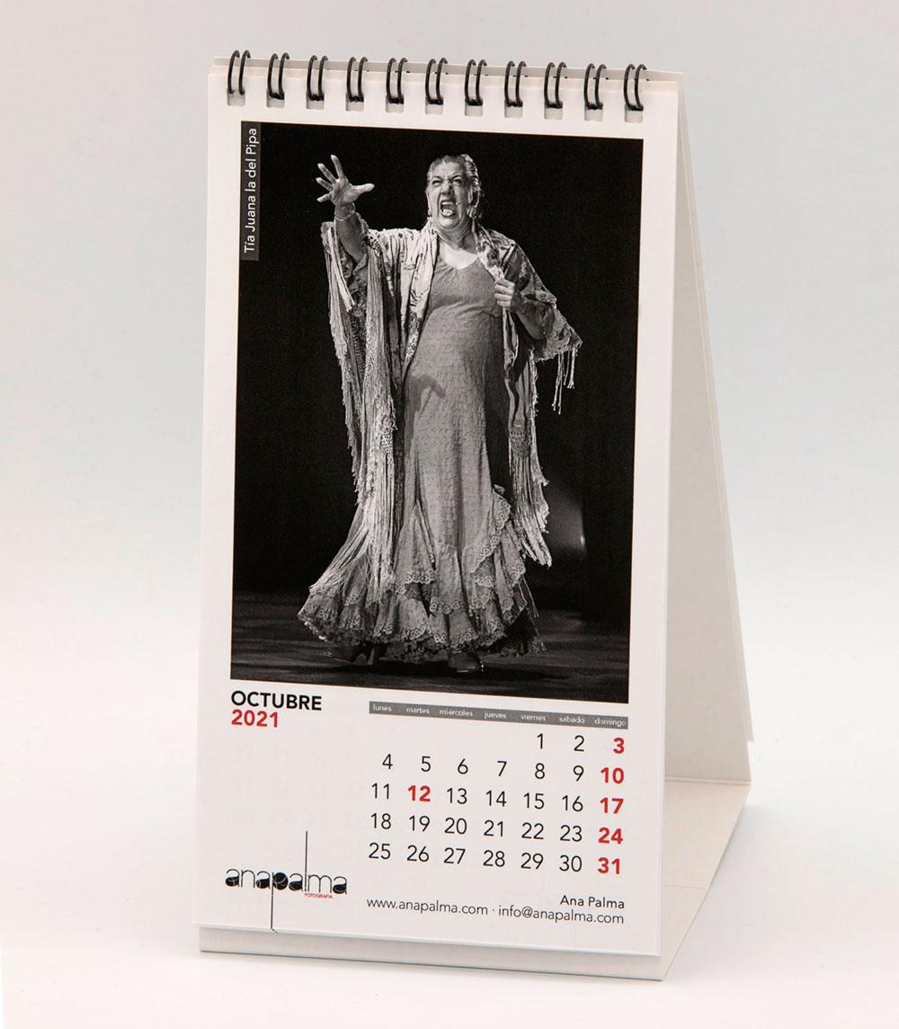 Calendario Ana Palma 2021 - Juana la del Pipa