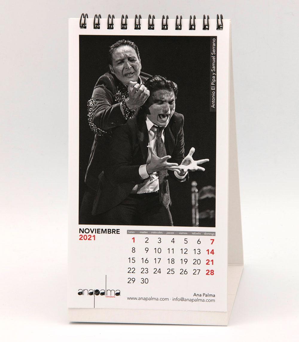 Calendario Ana Palma 2021 - Antonio El Pipa