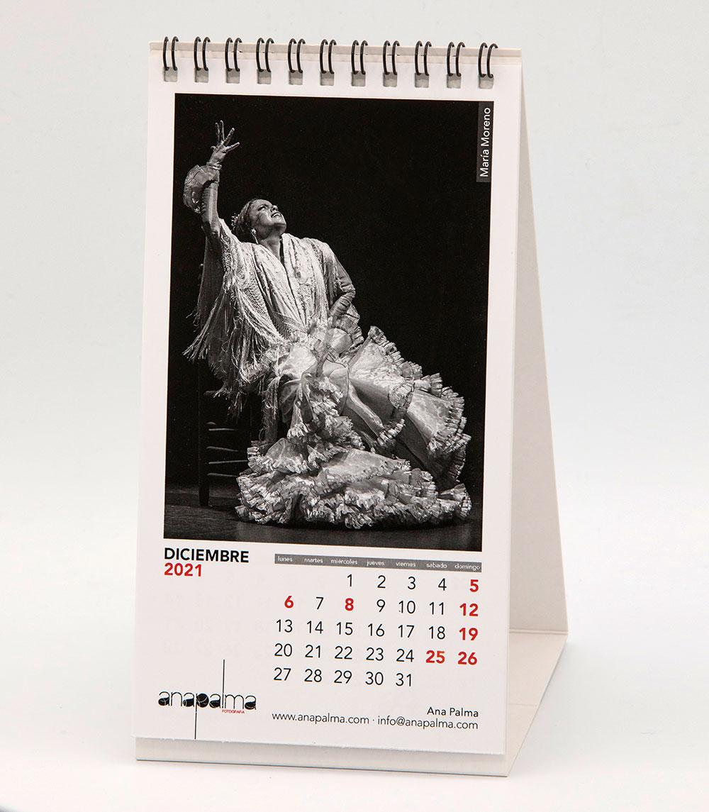 Calendario Ana Palma 2021 - María Moreno