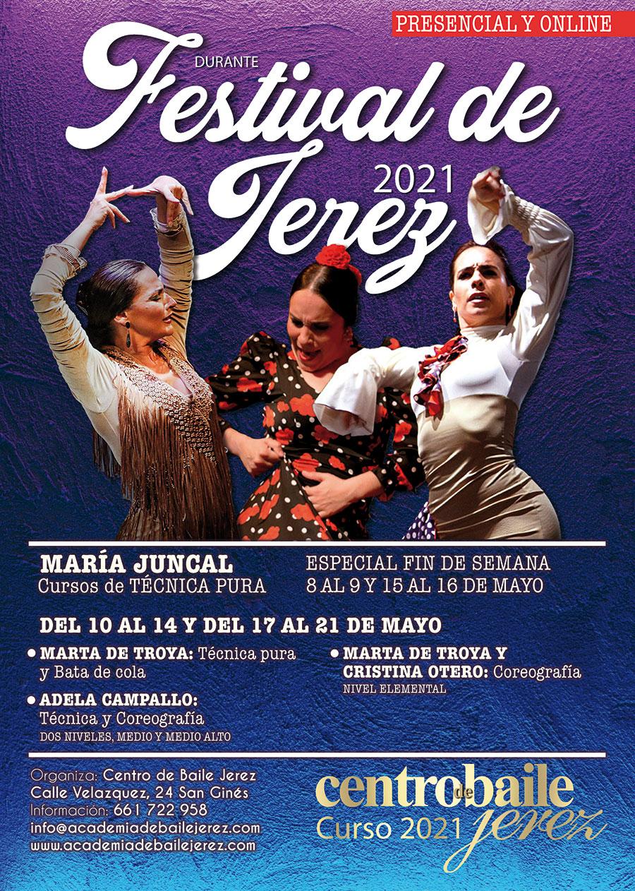 Cursos Festival de Jerez 2021 - Centro de Baile Jerez