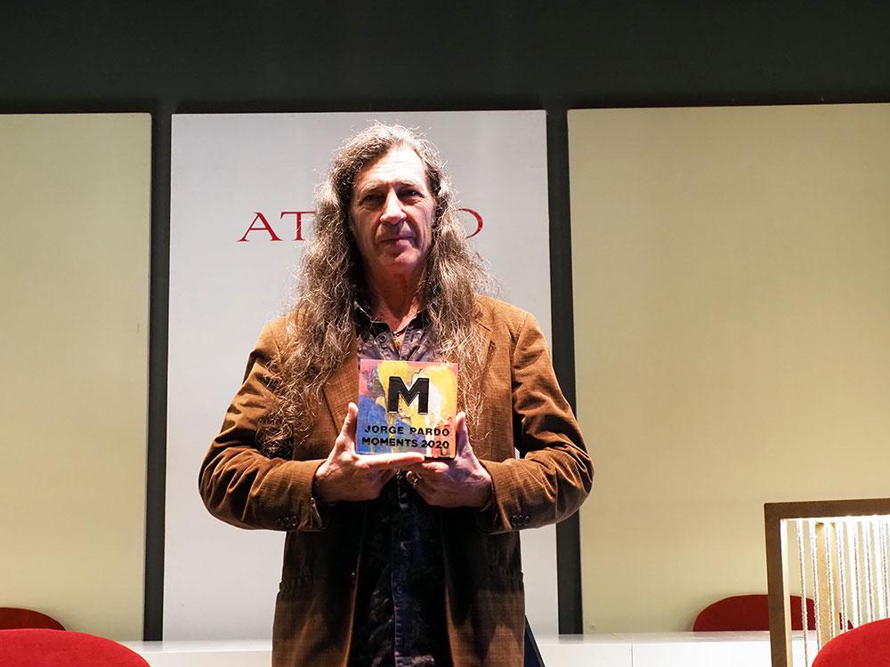 Jorge Pardo – PREMIO MOMENTS 2020
