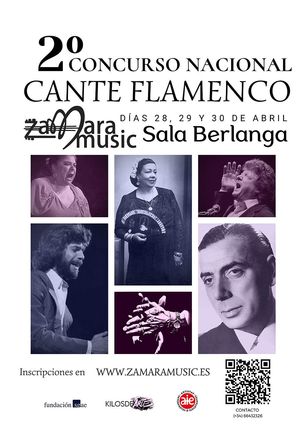 II Concurso Nacional de Cante Flamenco