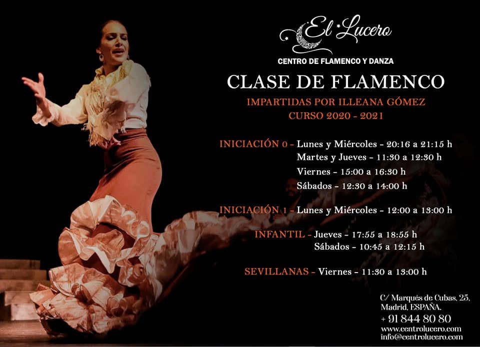 Escuela el Lucero - Clases de Flamenco - Illeana Gómez