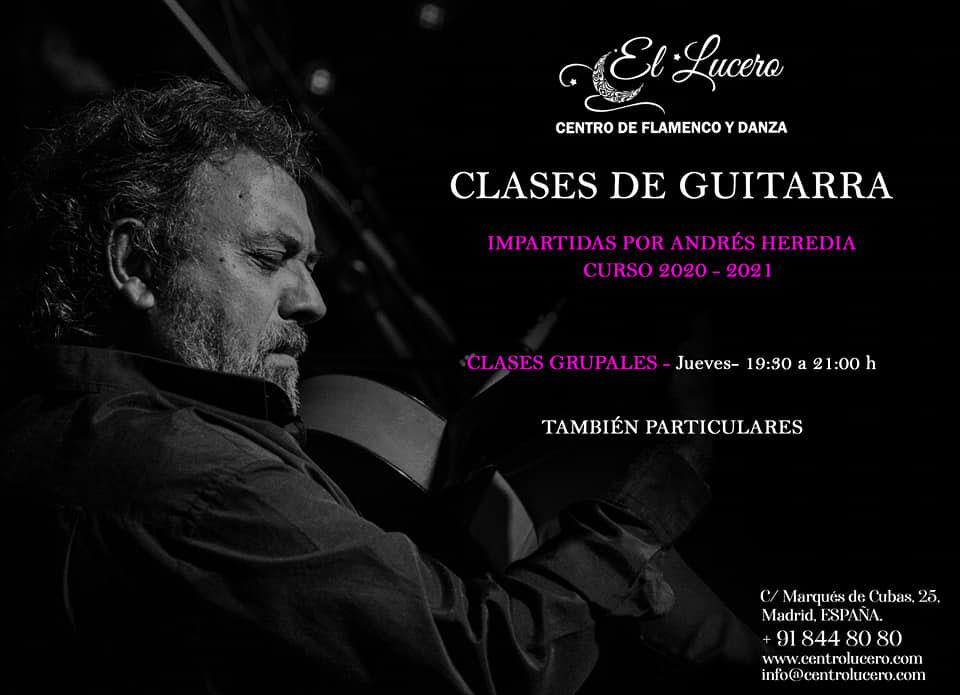Escuela el Lucero - Clases de Guitarra - Andrés Heredia