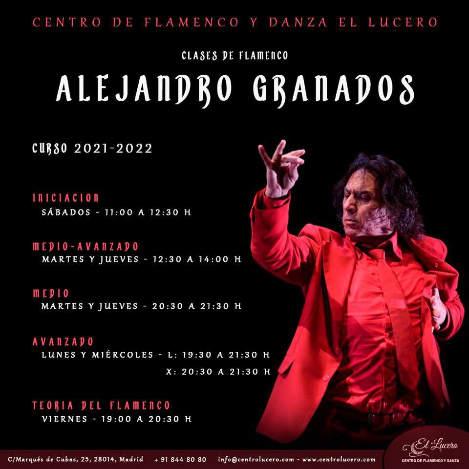 Clases Alejandro Granados - Centro el Lucero