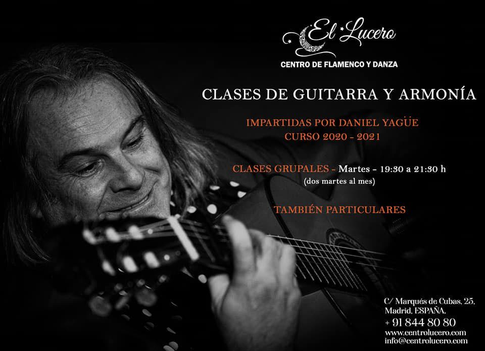 Escuela el Lucero - Clases de Guitarra y Armonía - Daniel Yagüe