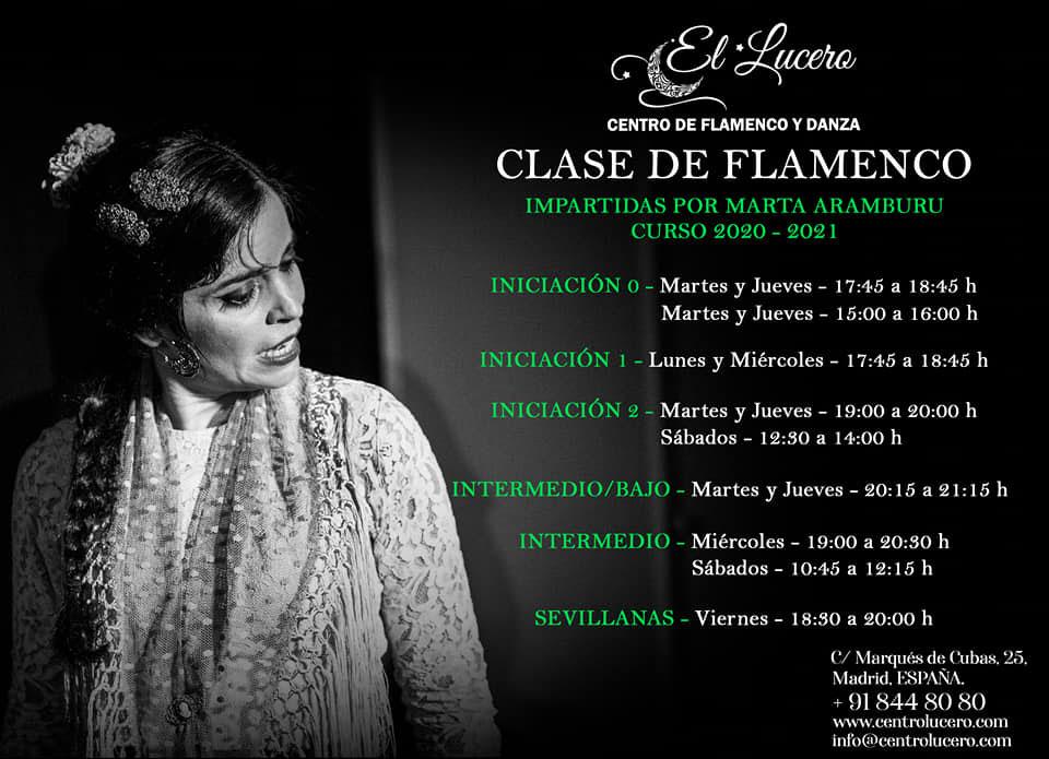 Escuela el Lucero - Clases de Flamenco Marta Aramburu