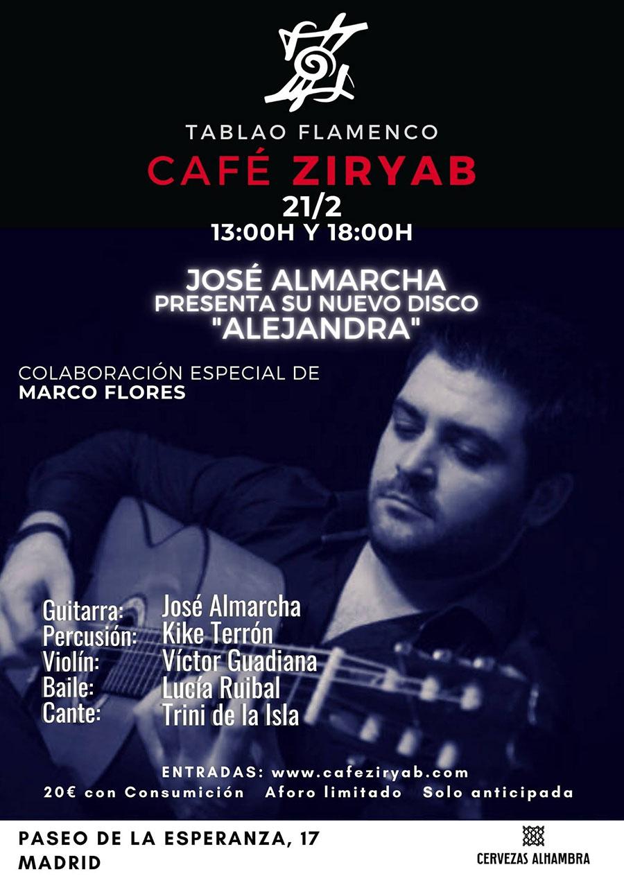 Café Ziryab - José Almarca
