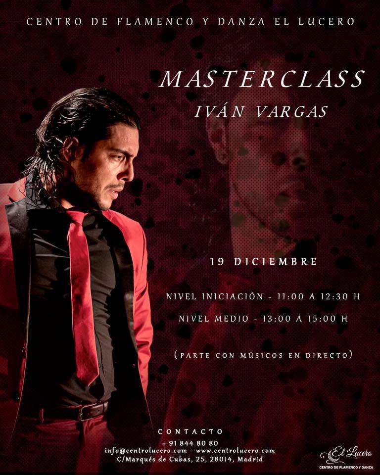 Masterclass Iván Vargas - Centro El Lucero