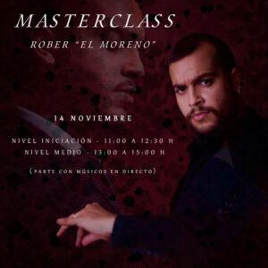 Masterclass Rober el Moreno - Centro El Lucero