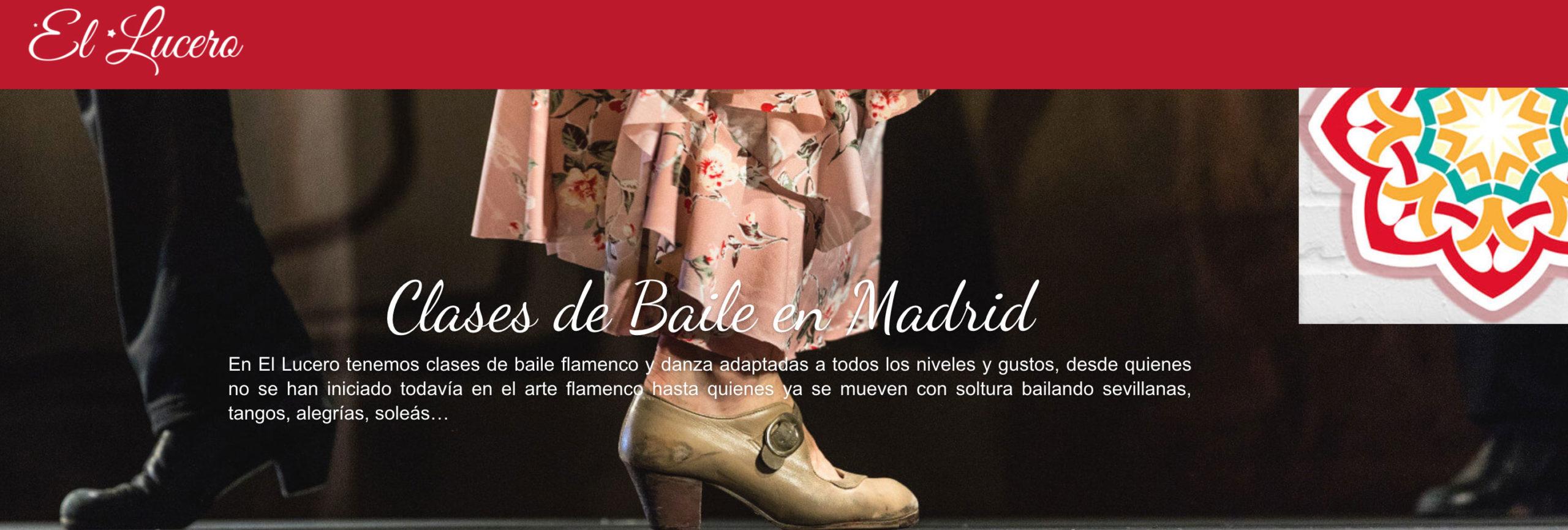 El Lucero – Escuela de flamenco y danza en Madrid