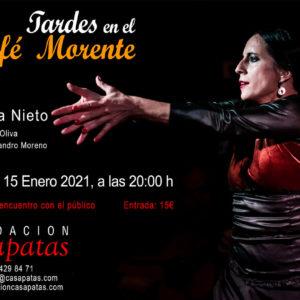 Sara Nieto, tardes en el Café Morente