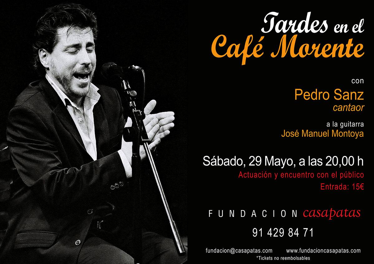 Tardes en Café Morente - Pedro Sanz