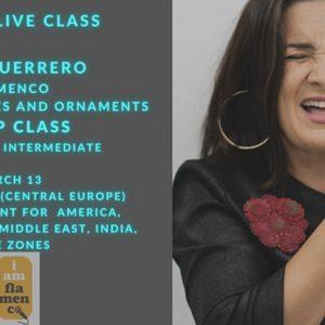 Alba Guerrero - I am flamenco singing school