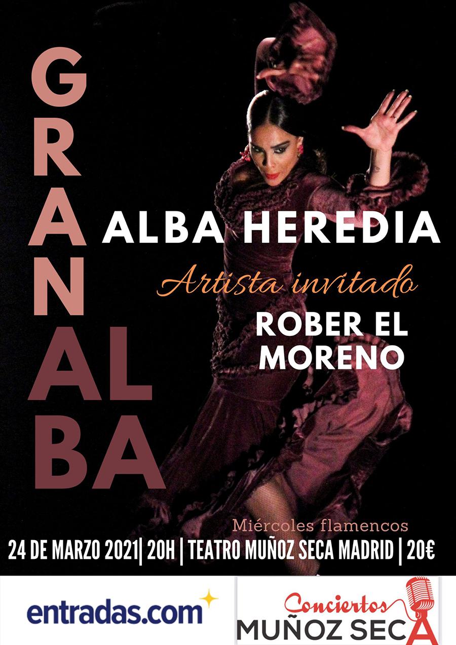 Alba Heredia en el Muñoz Seca
