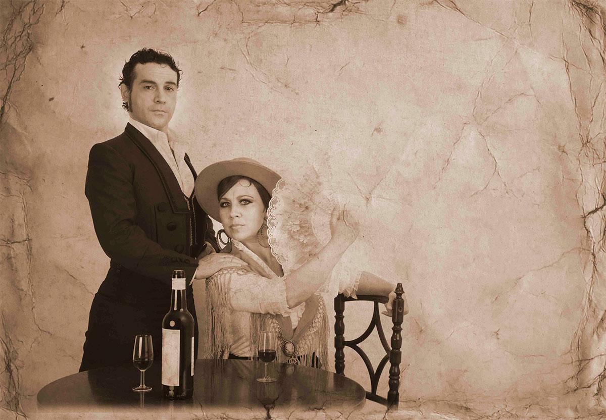 Andrés Peña & Pilar Ogalla en Flamenco Real