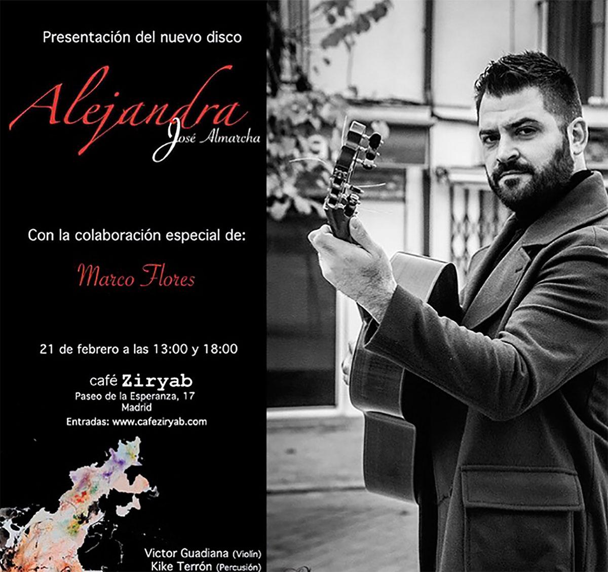 El guitarrista José Almarcha presenta «Venta Borondo»