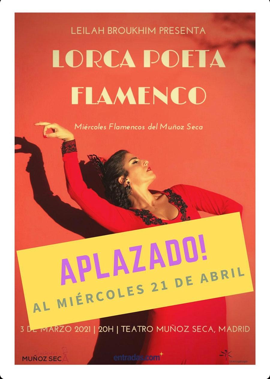Leilah Broukhim - Lorca poeta flamenco
