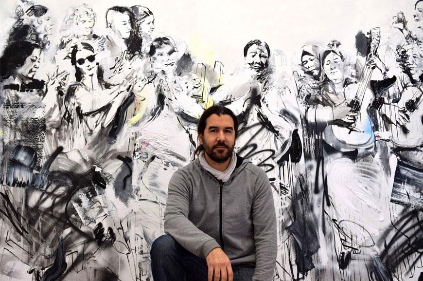 """Entrevista al """"pintaor"""" Patricio Hidalgo en Flamenco Twitch"""