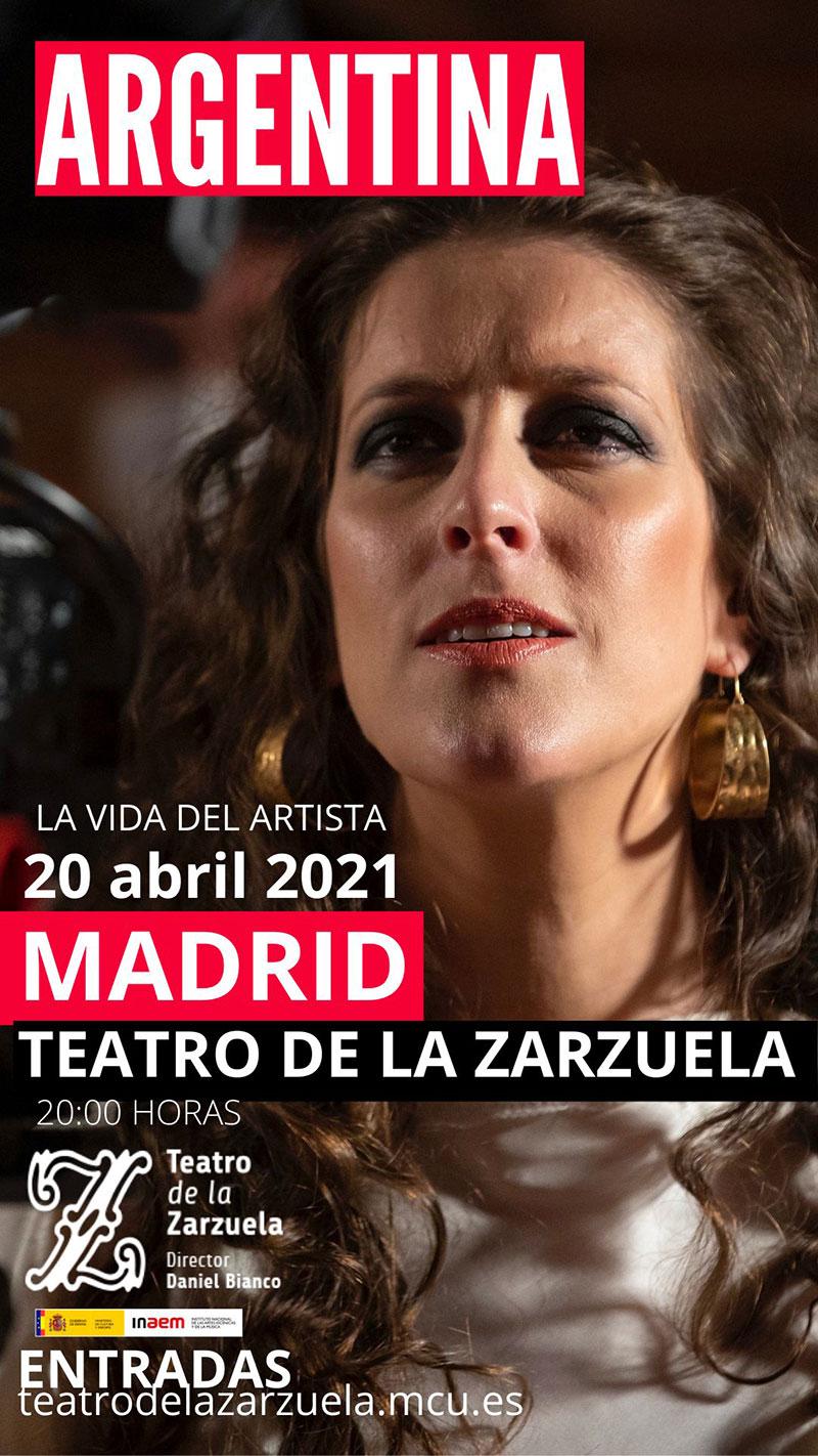 Argentina - Teatro de la Zarzuela