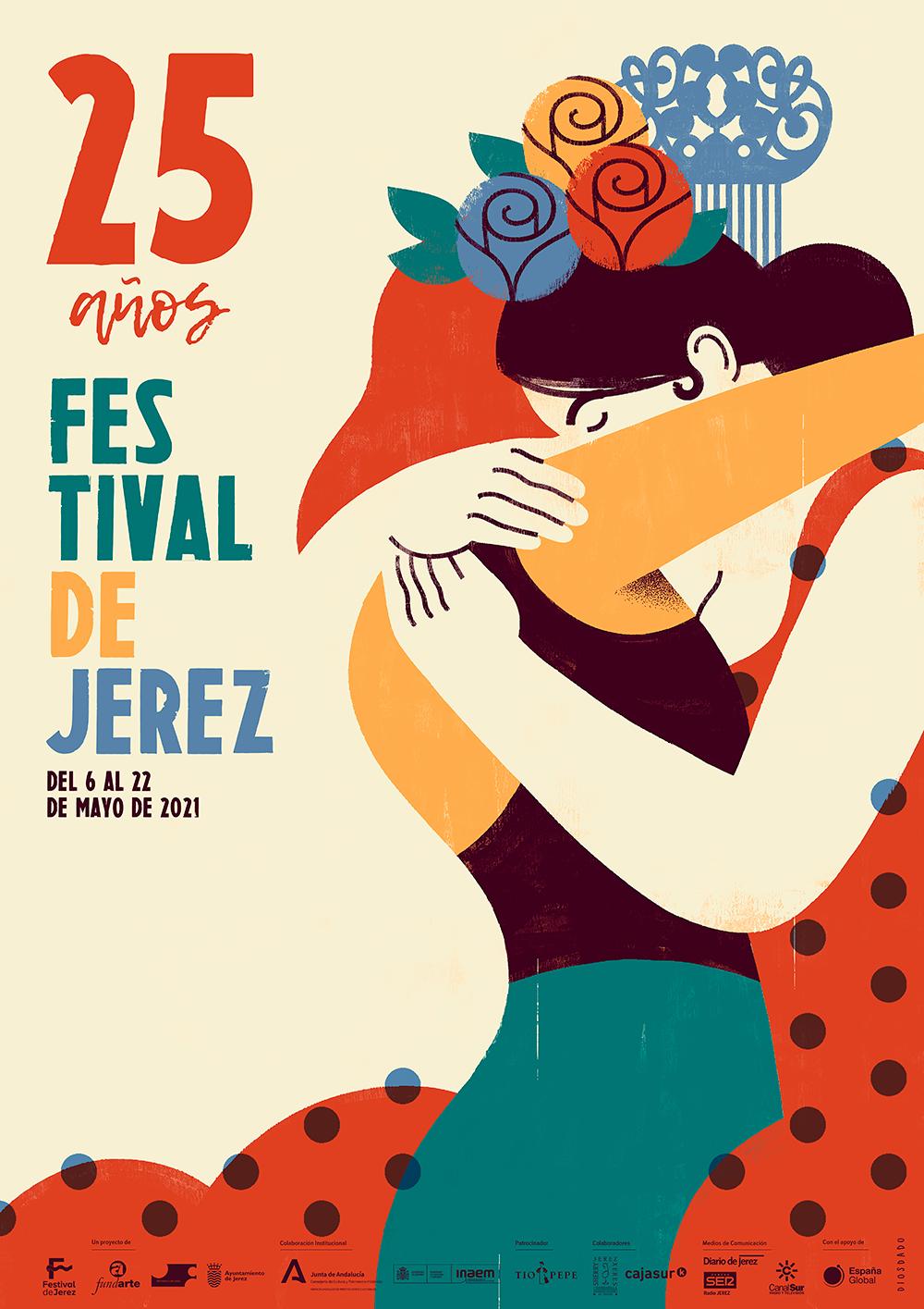 Cartel Festival de Jerez 2021