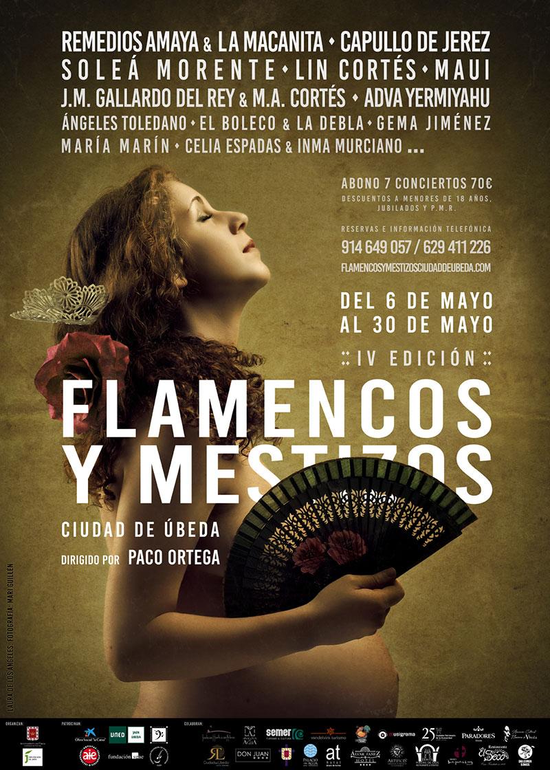 """V Edición del Festival """"Flamencos y Mestizos Ciudad de Úbeda"""""""