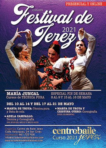 Cursos Festival de Jerez 2021 - Centro Baile Jerez