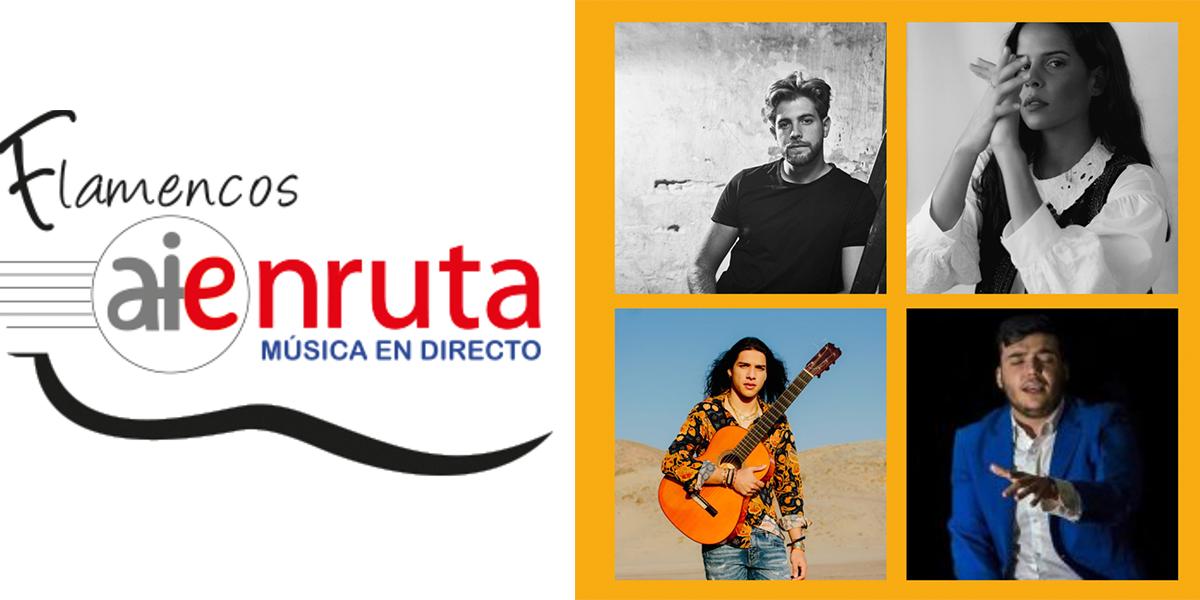 AIEnRUTa Flamencos. Conciertos Ciclo 2021.