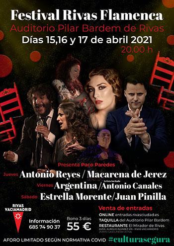 Rivas Flamenca 2021 - Estrella Morente y más