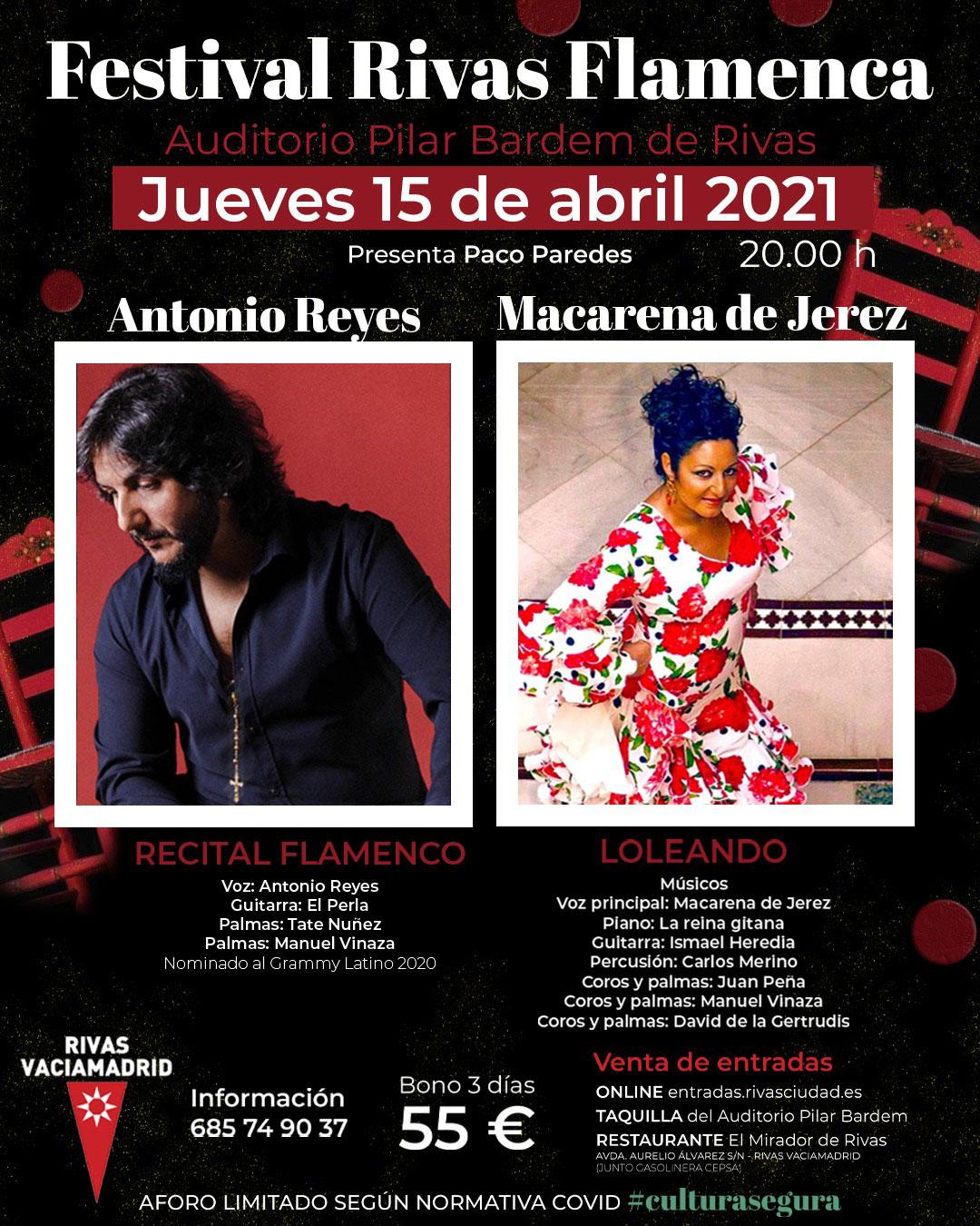 Rivas Flamenca 2021 - Antonio Reyes & Macarena de Jerez