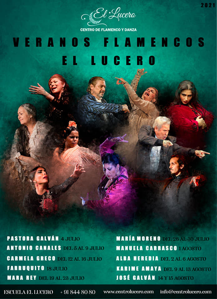 Veranos Flamencos El Lucero – Madrid