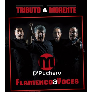 "M D Puchero - Flamenco a voces ""Tributo a Morente"" (CD)"