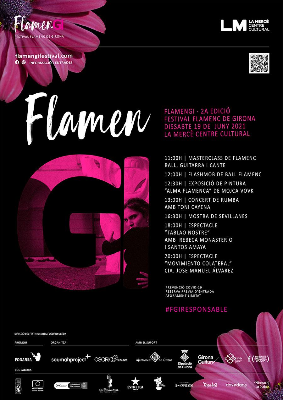 FlamenGi presenta una edición especial de primavera que llenará de flamenco la ciudad de Gerona