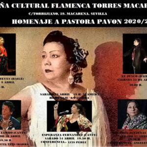 Homenaje a Pastora Pavón - Torres Macarena