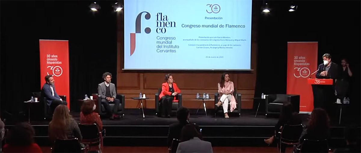 El Instituto Cervantes presentó el Congreso Mundial del Flamenco