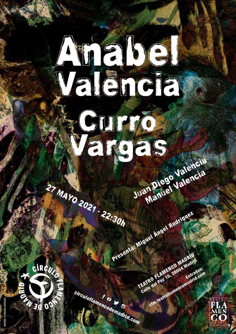 Anabel Valencia & Curro Vargas - Círculo Flamenco de Madrid