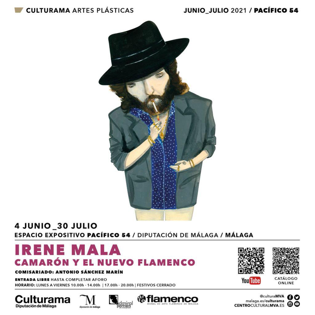 Irene Mala «Camarón y el nuevo flamenco»