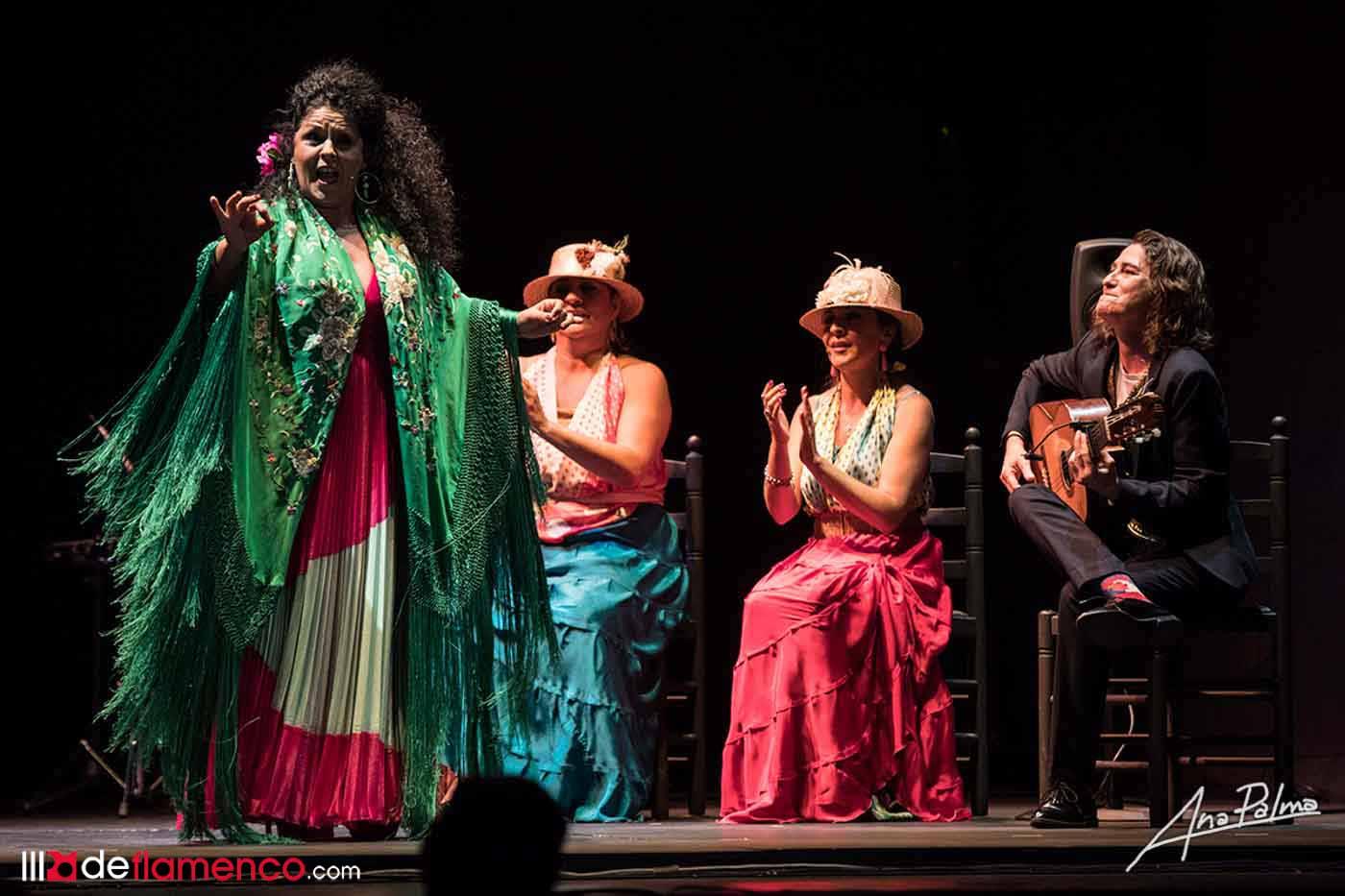 Melchora Ortega - flamencas de película - Festival de Jerez