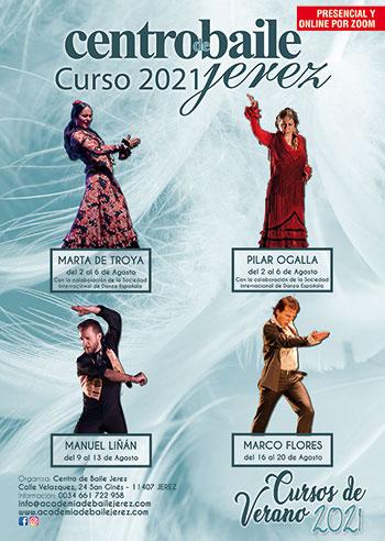 Cursos de Verano 2021 - Centro Baile Jerez