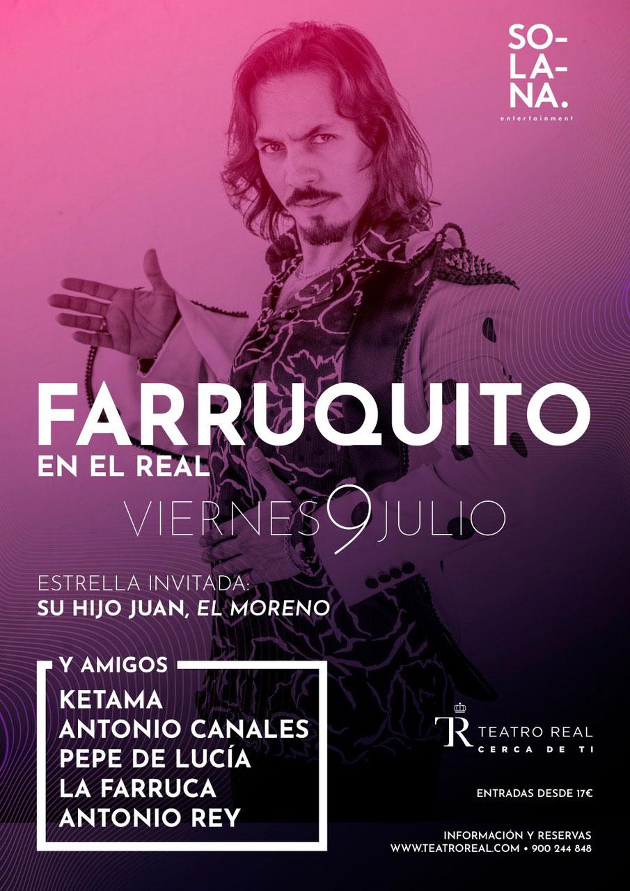 """""""FARRUQUITO Y AMIGOS"""" en el Teatro Real"""