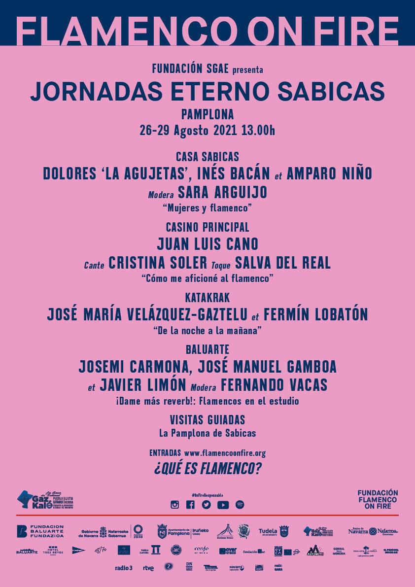Jornadas ETERNO SABICAS en Flamenco on Fire