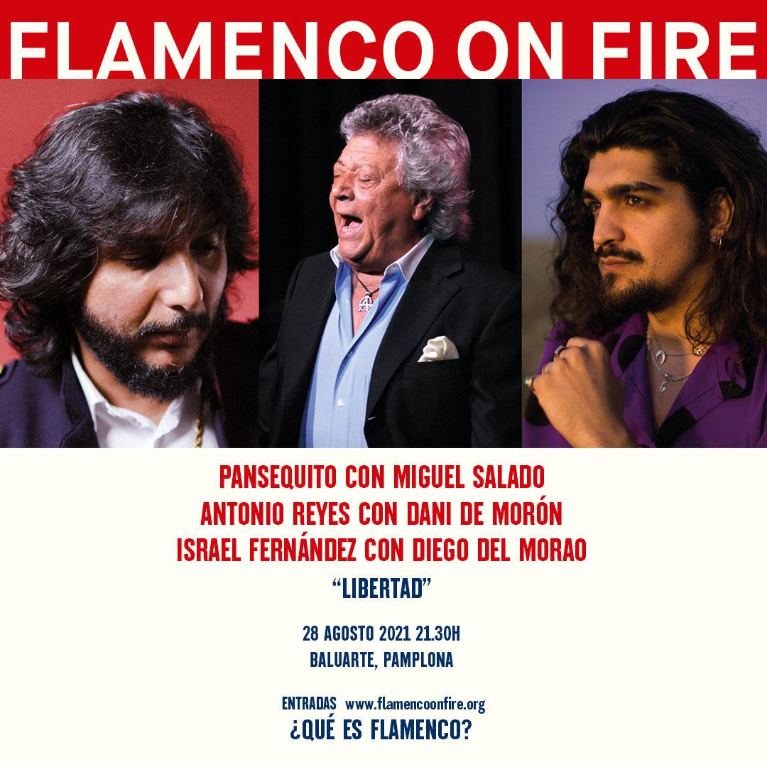 Libertad! Pansequito, Antonio Reyes, Israel Fernández - Flamenco on Fire