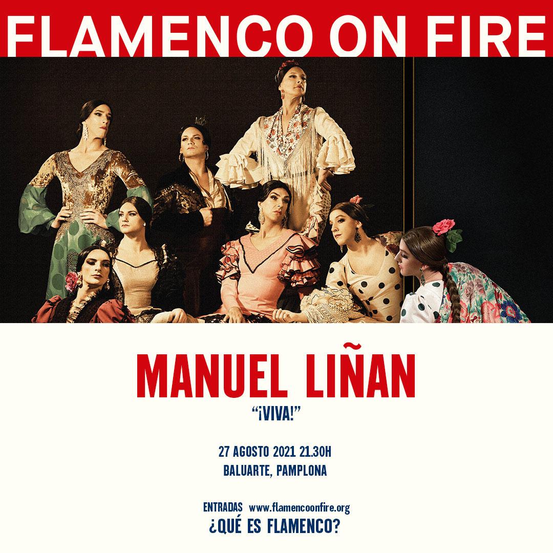 Manuel Liñán ¡Viva!- Flamenco on Fire